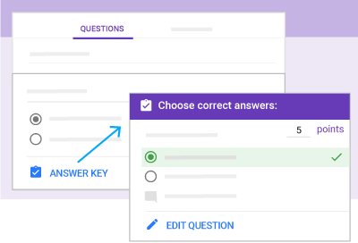 Get started with quizzes – Google Learning Center